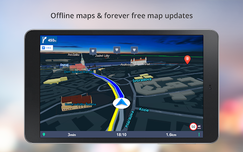 GPS Navigation - Drive with Voice, Maps & Traffic- screenshot thumbnail