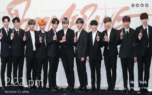 Wanna One HD Wallpapers K-Pop Music Theme