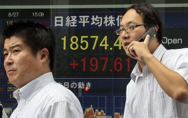 Asian shares firmer after positive China data