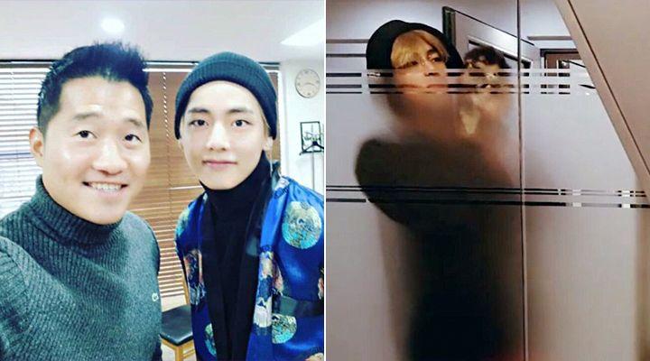 kang hyung wook and v