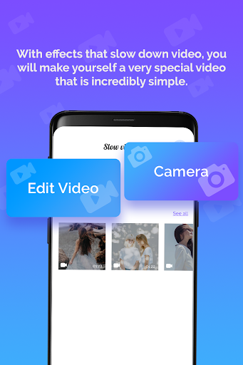Slow Motion Video Editor: Fast, Slow-motion Video 1.0.0 screenshots 2