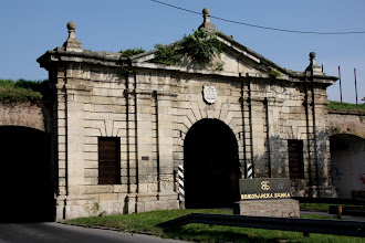 Photo: Day 79  - Fortress Gate in Petrovaradin