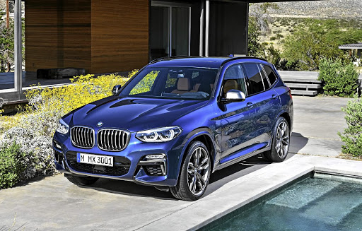 The final result of all the design effort, the new BMW X3.   Picture: BMW