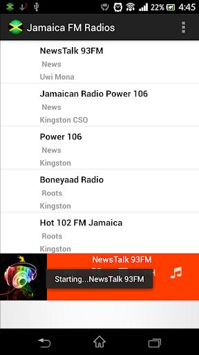 Jamaica FM Radios