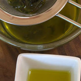 Mint Infused Olive oil.