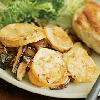 Mushroom & Potato Gratin
