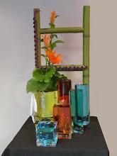 Photo: Floral Designers: Geri Hoerner and Barb Templin Floralia Arrangers Guild Garden Club