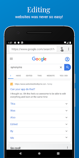 Inspect and Edit HTML Live screenshot 1