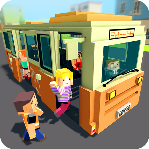 Mr. Blocky City Bus SIM (game)