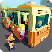 Mr. Blocky City Bus SIM