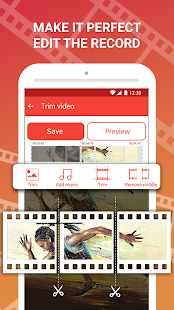 Screen recorder with facecam — HD screen capture Screenshot