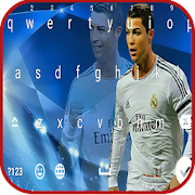Cristiano Ronaldo keyboard emoji Themes APK for Bluestacks
