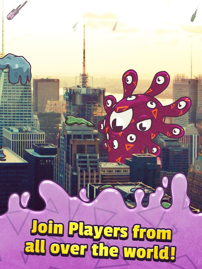 Smash Time - Blob Invaders- screenshot