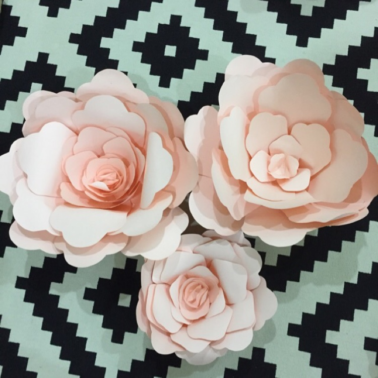 Handmade Paper Flowers by Whimsicalio