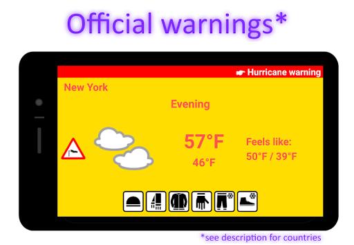 Weatherproof - Weather & Clothes 4.6.6 screenshots 7