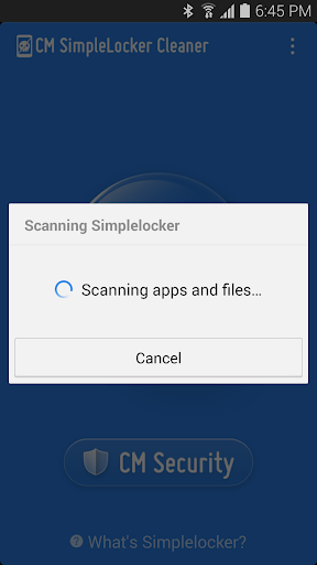 Simplelocker Cleaner screenshot 2