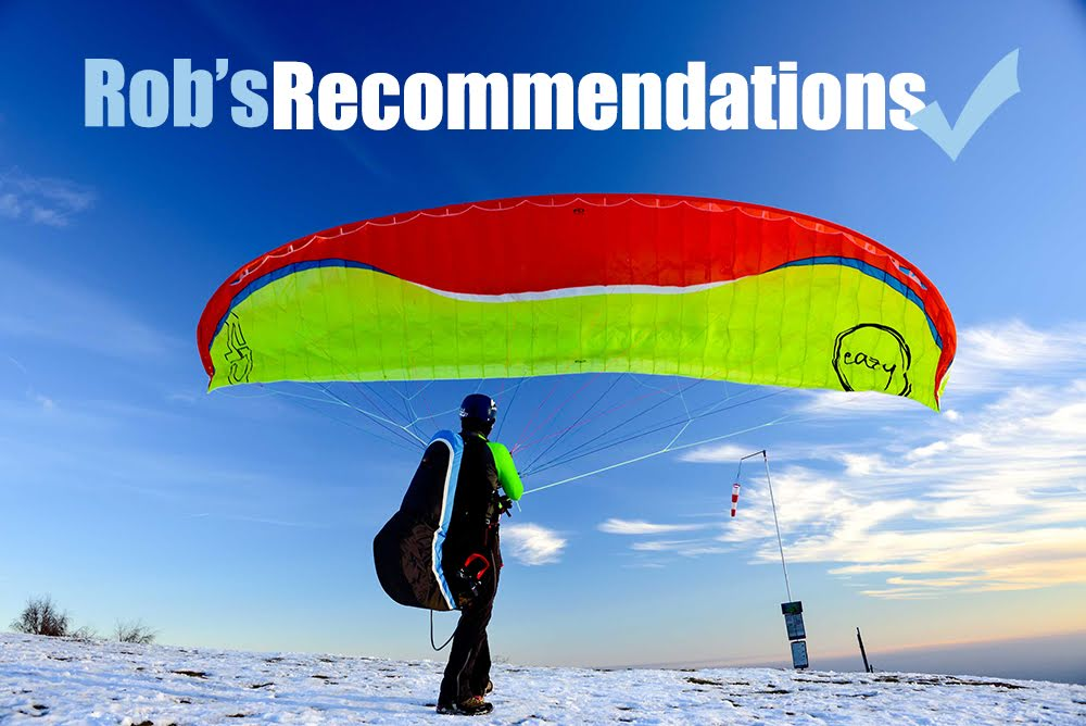 Rob's recommended paraglider package deal
