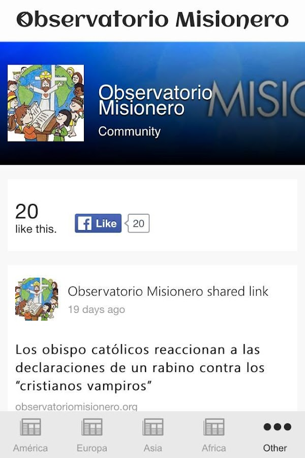 Observatorio Misionero- screenshot