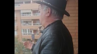 Imagen del vídeo del Niño de las Cuevas.