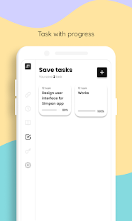 Simpan - Notes various needs Screenshot