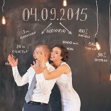 Wedding photographer Nika Nikitina (nikaFOTO). Photo of 05.09.2015