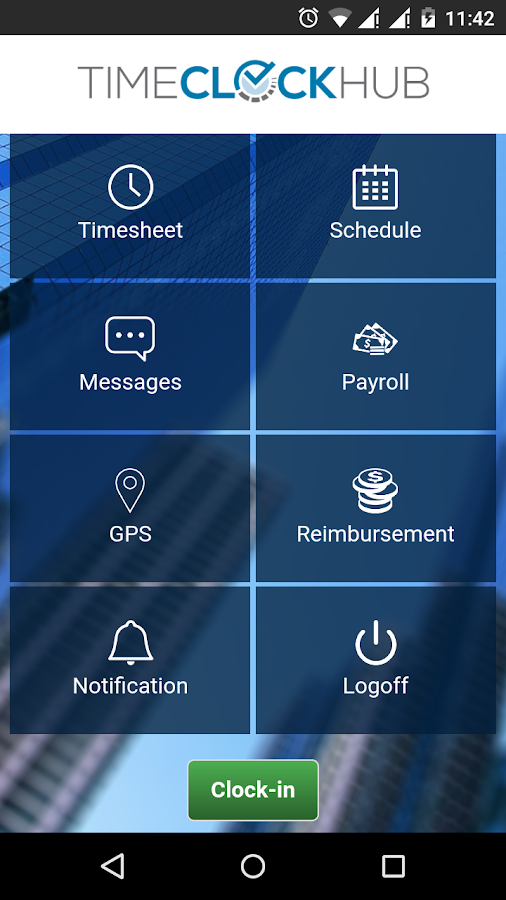 Time Clock Hub- screenshot