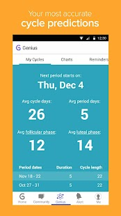 Glow - Ovulation Calculator- screenshot thumbnail