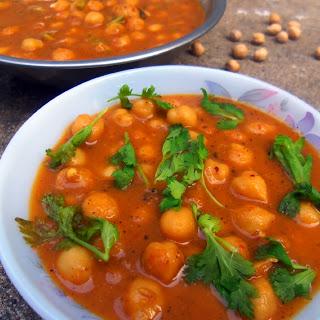 Punjabi Chole Recipe or Chole Masala
