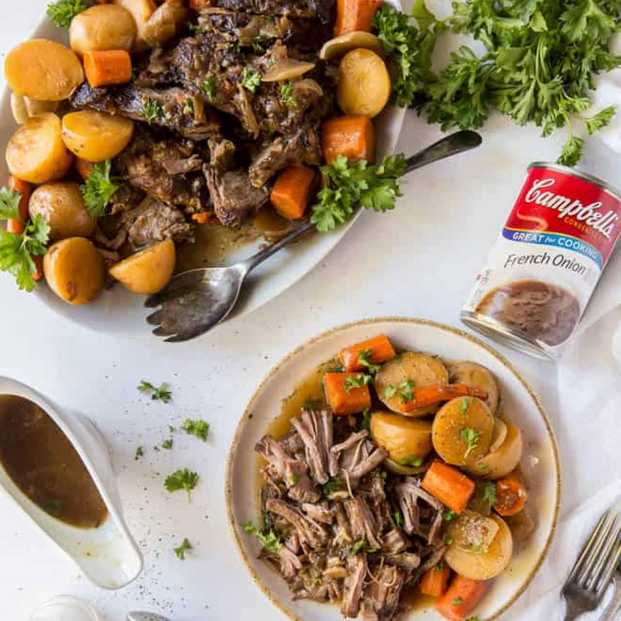 Slow Cooker Pot Roast  in the same way as Potatoes and Carrots