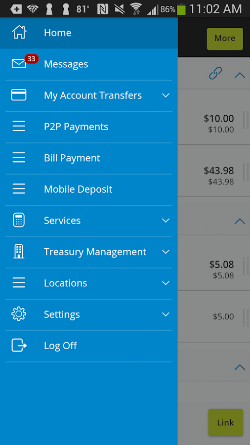 SouthEast Bank Mobile Banking- screenshot