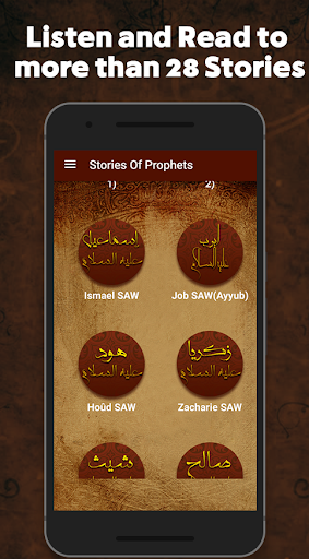 Read & listen Stories of Prophets in Islam screenshot 2