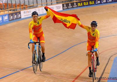 Europese kampioenen in het baanwielrennen verlengen contract bij Movistar met het oog op de Olympische Spelen