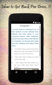 Recover Pen Drive Data Guide screenshot 2