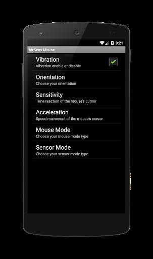 【免費生產應用App】Air Sens Mouse (WiFi)-APP點子