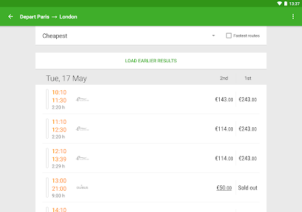 Captain Train: train tickets Screenshot 9