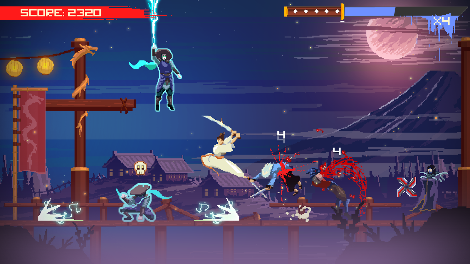 Super Samurai Rampage- screenshot