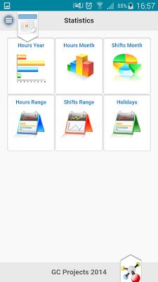 Work Shifts LITE - screenshot