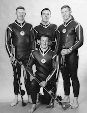 Photo: Irish Team for World Spearfishing Championships in Cuba, Sept. '67.