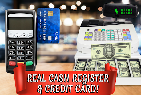 Credit Card Cash Register Simulator - Money Games - náhled