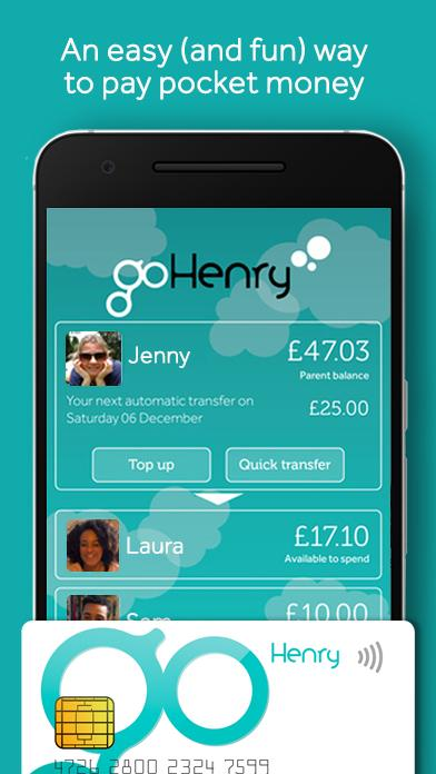 goHenry- screenshot