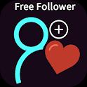 Followers & Likes For tik tok icon