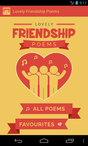 Lovely Friendship Poems