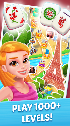 Mahjong City Tours: An Epic Journey and Quest Android App Screenshot