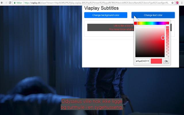 Viaplay Subtitles
