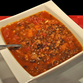 Lentil Soup with Chorizo.
