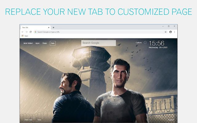 A Way Out Wallpaper HD A Way Out New Tab