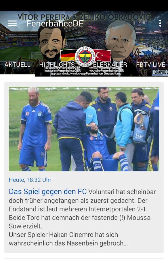 fenerbahce news deutsch