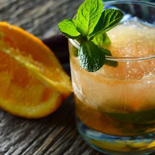 Orange Mint Julep.