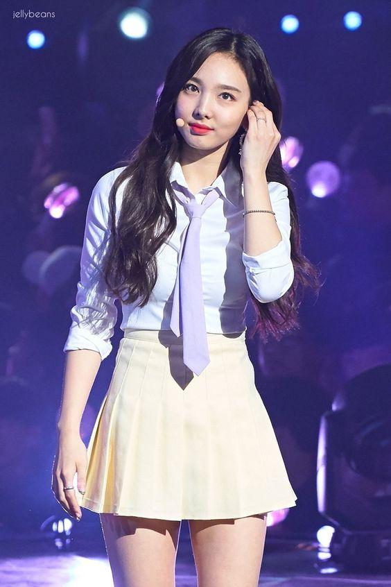 nayeon uniform 15