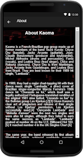 Kaoma - (Songs+Lyrics) - náhled